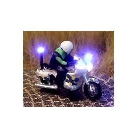 """Bicyc Led 168851SWE Motorcykel med belysning """"Svensk Polis"""""""