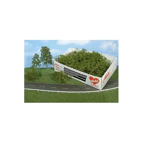 Heki 1672 Lövträd och buskar, mörkgrön, 15 st