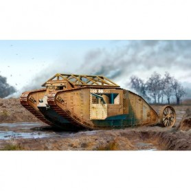 "Master Box 72001 Tanks MK 1 ""Male"" British Tank"