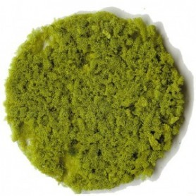 Heki 3388 Flock, grov, ljusgrön, 200 ml i påse