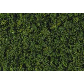 Heki 3389 Flock, grov, mörkgrön, 200 ml i påse