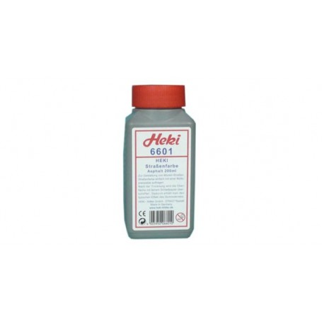 Heki 6601 Vägfärg, asfalt, 200 ml