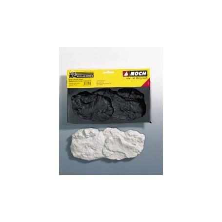 """Noch 95912 Gjutform för stenar """"Washed Rock"""", 12,7x 26,7 cm"""