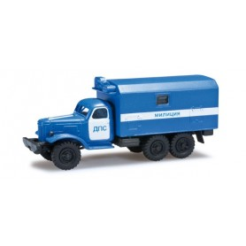 "Herpa 744881 ZIL 157 box truck ""police department Ukraine"""