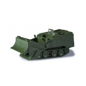 Herpa 744829 M901 armored recovery vehicle with bulldozer blade (U.S.)