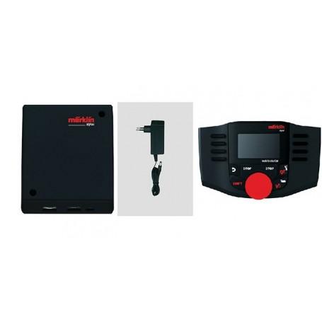 Märklin 00667 Paket för digitalstyrning (mobile station 2, anslutningsbox, transformator)