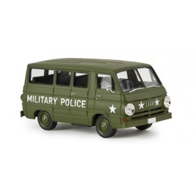 "Brekina 34313 Dodge A 100 Bus ""Military Police"""