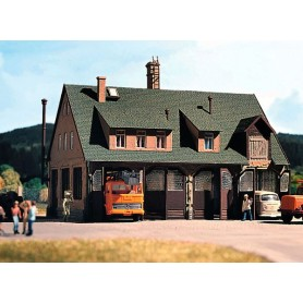 Vollmer 3753 Kommunal byggnad/garage, mått 170 x 120 x 140 mm