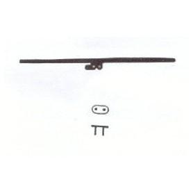 Jeco 185 Kontaktbleck med isolering