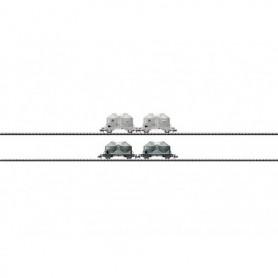 Trix 15087 Vagnsset med 4 silovagnar typ DB