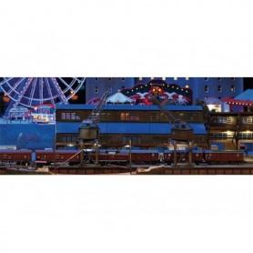 Trix 66302 Hamnhus och 2 portalkranar, laserskuren