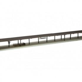 Trix 66300 Perrong med tak, kan delas upp i 4 olika perronger