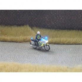 """Bicyc Led 878853SWE Motorcykel med belysning """"Svensk Polis"""""""