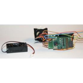 Märklin 30430SPECIAL Digitaldekoder 21-pins, urplockad elektronik från Märklin 30430, en vanlig standard digitaldekoder med 1...
