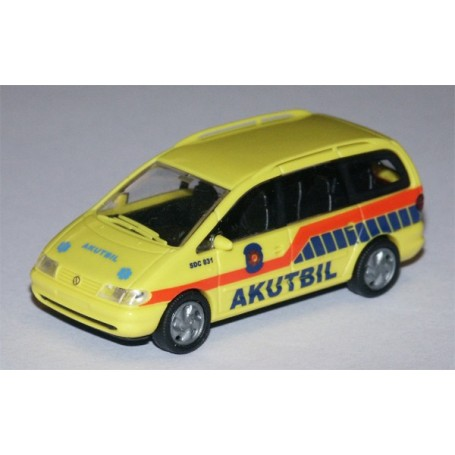 """Rietze 50756 VW Sharan """"Akutbil"""" SDC 831"""