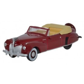 "Oxford Models 107281 Lincoln Continental 1941 ""Maroon"""