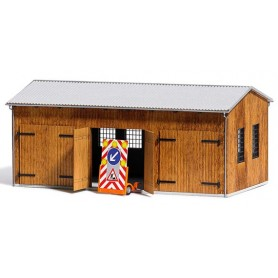 Busch 1456 Garage 3-portars