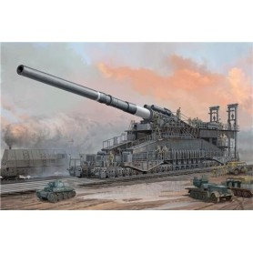 "Hobby Boss 82911 German 80cm K(E) Railway Gun ""Dora"""