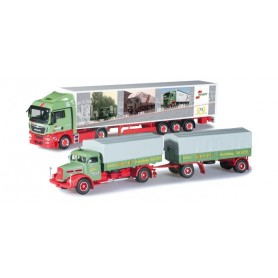 "Herpa 303606 Set with two die cast models ""75th anniversary of Wandt"""