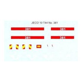 Jeco 12-440 Komplett dekalark för T44 381