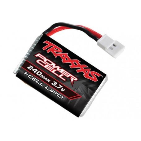 Traxxas 6237 LiPo Batteri 1S 3.7V 240 mAh, 1 st