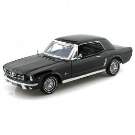 Motormax 73164 Ford Mustang 1964 1/2, svart