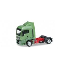 Herpa 302388.2 MAN TGS LX Euro 6 rigid tractor, reseda green