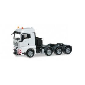 Herpa 155397.4 MAN TGX XLX 540 heavy duty rigid tractor, pure white