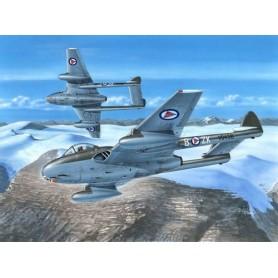 """Special Hobby 72281 Flygplan DH.100 Vampire FB.52 """"In Northern Skies"""""""