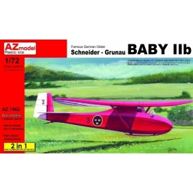 AZ 7462 Flygplan Famous German Glider Schneider - Grunau Baby IIb