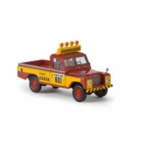 """Brekina 13753 Land Rover 109 Hardtop """"Bärgningskåren"""""""