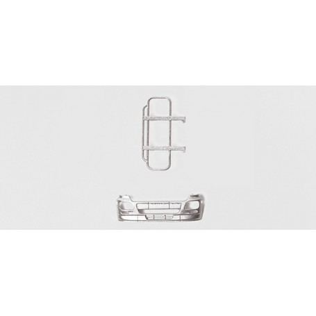 Herpa 052047 Ram protection (with bumper) for MB Actros L '02 3 pcs