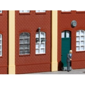 Auhagen 80201 Fönstergaller, 15 st i olika mått
