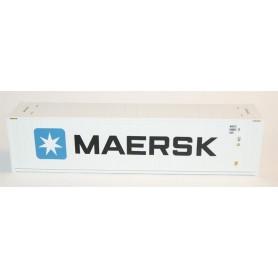 """Heris 19106 Kylcontainer 40' """"Maersk"""", extremt detaljerad och välgjord"""