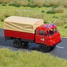 """Busch 5624 Robur """"Feuerwehr"""", med kabel, 14-16V DC eller AC"""