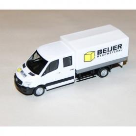 """AHM AH-664 Mercedes-Benz Sprinter double """"Beijer Byggmaterial"""""""