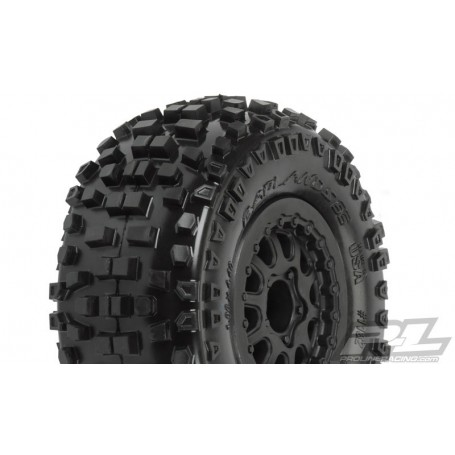 "Pro-Line 1182.13 Badlands SC 2.2""/3.0"" M2 (Medium) Tires Mounted for Slash Rear, Slash 4x4 and Blitz* Front or Rear"