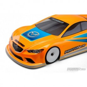 Protoform 1536.25 Kaross Mazda6 GX Lättvikt Clear Body for 190mm TC, 1 st