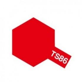 """Tamiya 85086 Sprayfärg TS-86 """"Pure Red"""", innehåller 100 ml"""