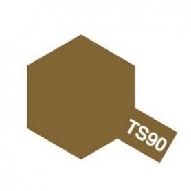 """Tamiya 85090 Sprayfärg TS-90 """"Brown (JGSDF)"""", innehåller 100 ml"""