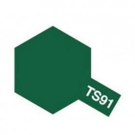 """Tamiya 85091 Sprayfärg TS-91 """"Dark Green (JGSDF), innehåller 100 ml"""