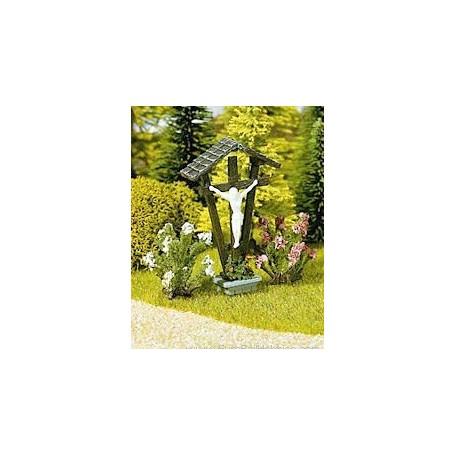 Noch 10920 Vägkors, ca 4,5 cm hög, med figur av Jesus Kristus