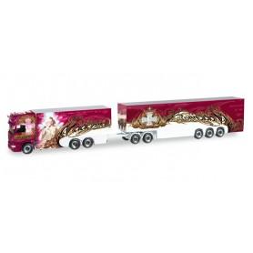 "Herpa 303743 Scania R HL box Eurocombi ""Ristimaa Madonna"" (FIN)"