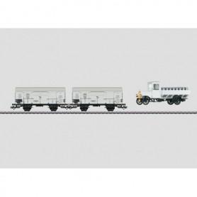 Märklin 48815 Vagnsset med 2 st mjölktransportvagnar typ DRG