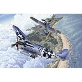 Academy 12513 Flygplan Fw190A-8 & P-47D