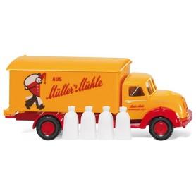 "Wiking 54049 Box truck (Magirus Sirius) ""Müller's Mühle"", 1956"