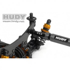 Hudy 170005 Socket Driver No. 5.0mm & No. 5.5mm