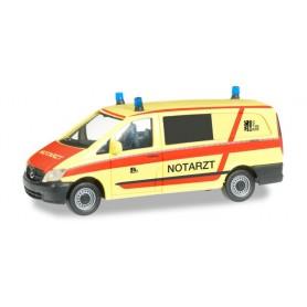 "Herpa 091695 Mercedes Benz Vito NEF ""Dresden fire department"""