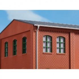 Auhagen 80209 Fönster, gröna