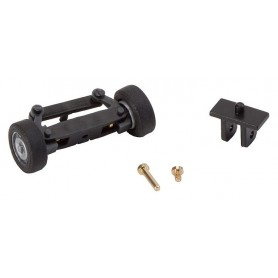 Faller 163001 Front axle, completely assembled for sprinters (with wheels)